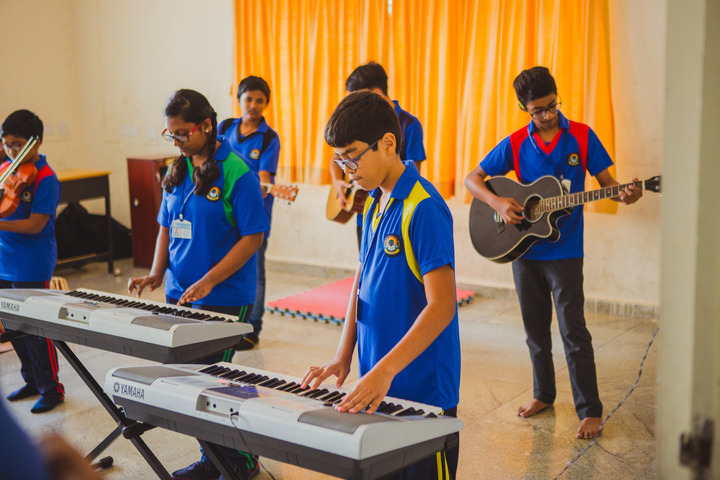 Akash International School-Music Room
