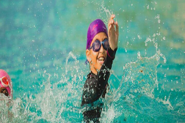 Akash International School-Swimming Pool