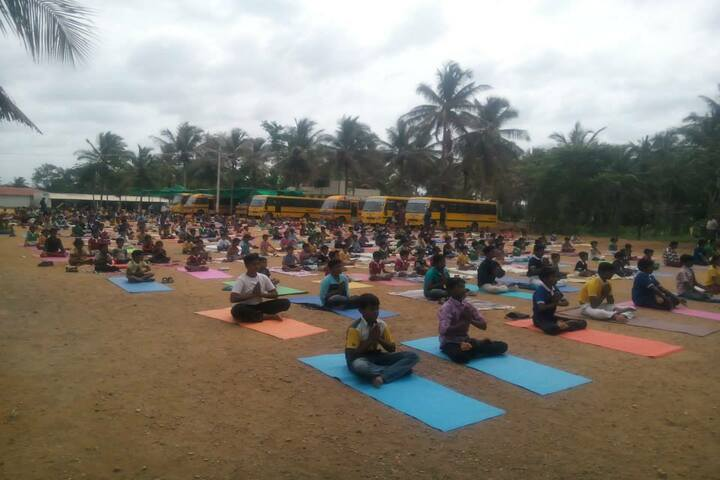Akshara International Public School-Yoga