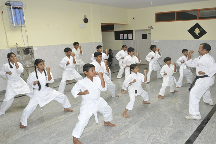Akshara School-karate