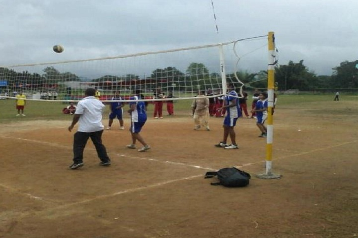 Army School-Sports vollyball
