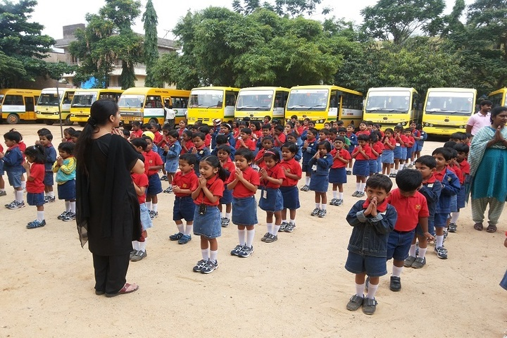 Amara Jyothi Public School-Assembly