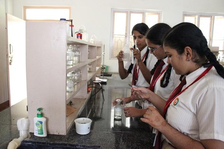 Amara Jyothi Public School-Chemistry Lab