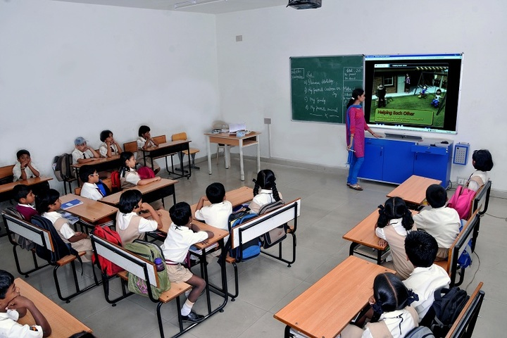 Amara Jyothi Public School-Classrooms