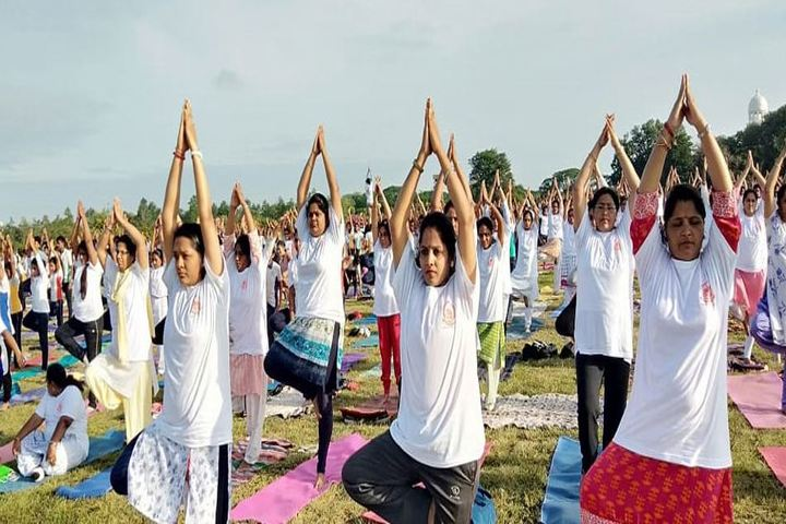 Amrita Vidalayam-International Yoga Day