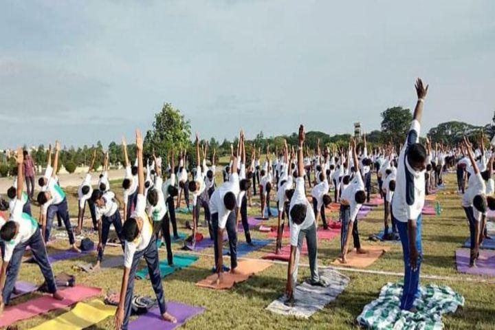 Amrita Vidalayam-Yoga Day