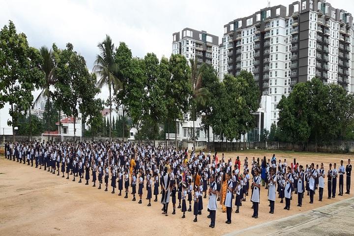 Anand Shiksha Kendra-Morning Assembly