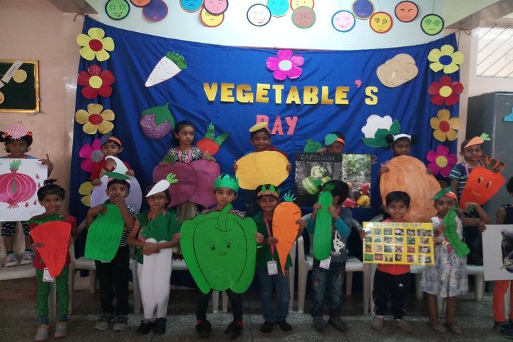 Anand Shiksha Kendra-Vegetables Day