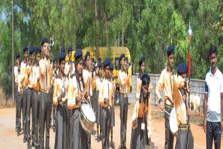 Anandathirtha Vidyalaya-March Past