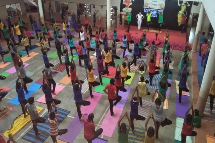Anandathirtha Vidyalaya-Yoga