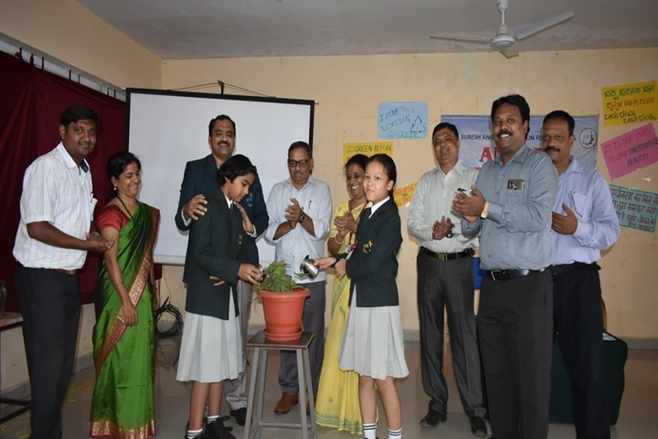 Angadi International School-Enviornment Day