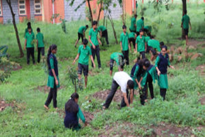 Anmol Public School-Tree Plantation