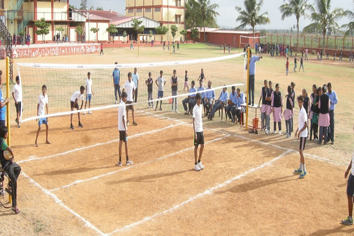 Anmol Public School-Volley Ball Court