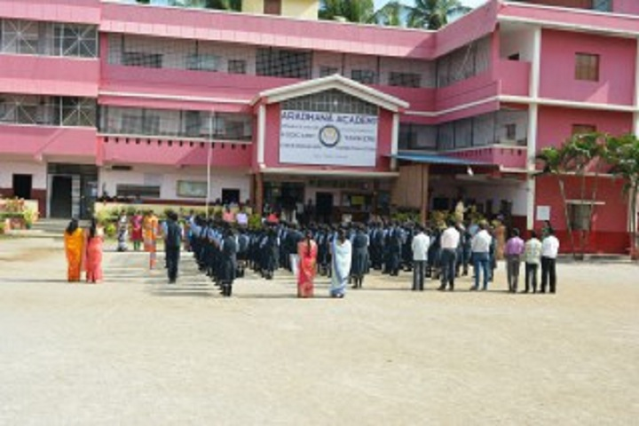 Aradhana Higher Primary School-Morning Assembly