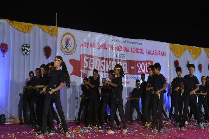 Aryan English Medium School-Annual Day Dances