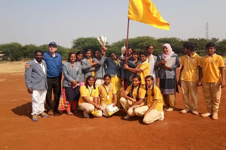 Aryan English Medium School-Sports Team Prizes