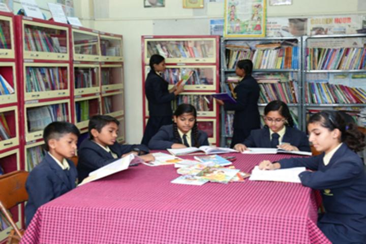Ashok International Public School-Library