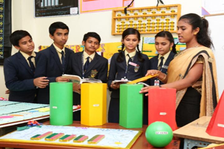 Ashok International Public School-Math Lab