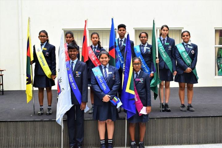 Asia Pacific World School-Investiture ceremony