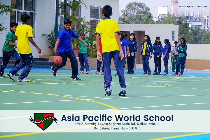 Asia Pacific World School - Sport Activity