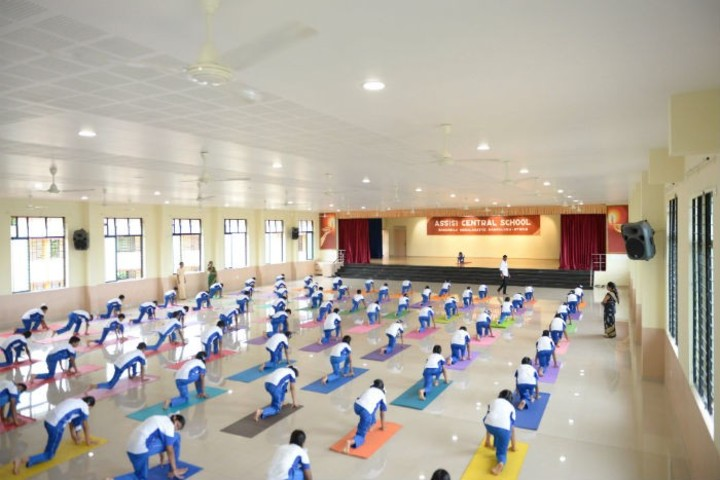 Assisi Central School-Yoga