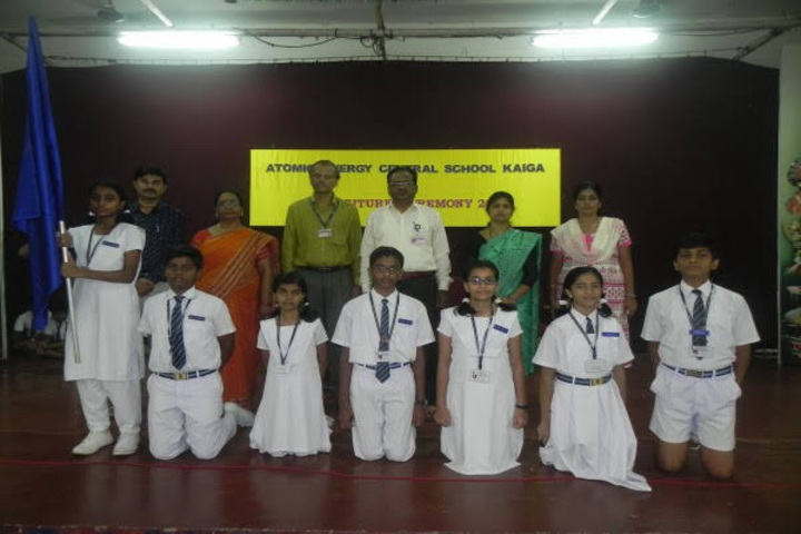Atomic Energy Central School-Investiture Ceremony