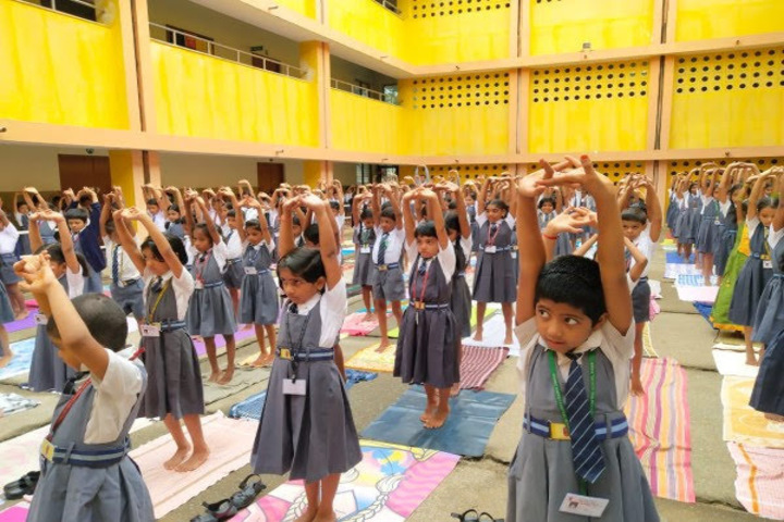 Atomic Energy Central School-Yoga Day