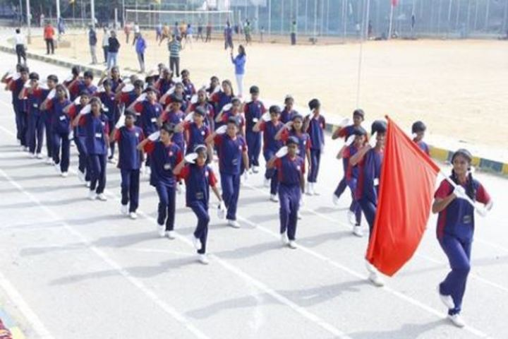 Atreya Vidyaniketan-March Past