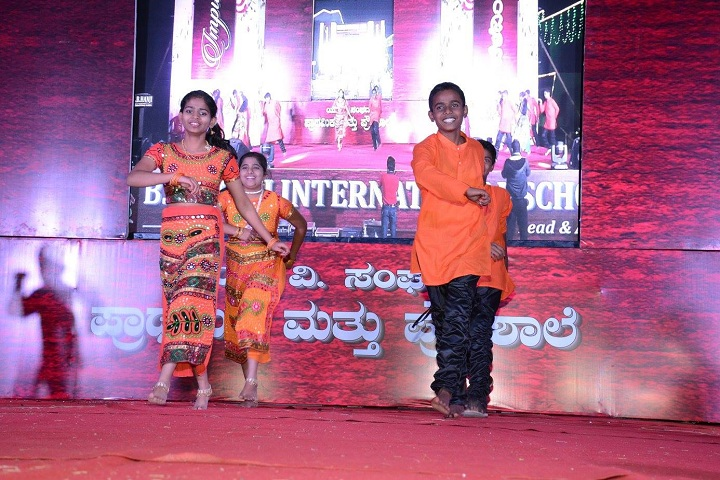 B B Hanji International School-Dance