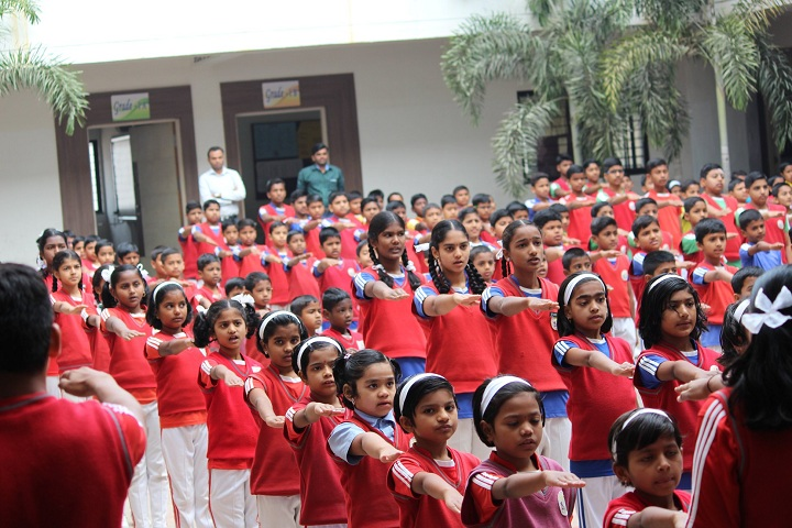 B B Hanji International School-Morning Assembly