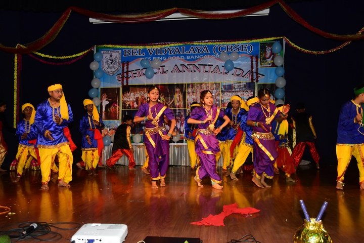 B E L School-Annual Day Dance