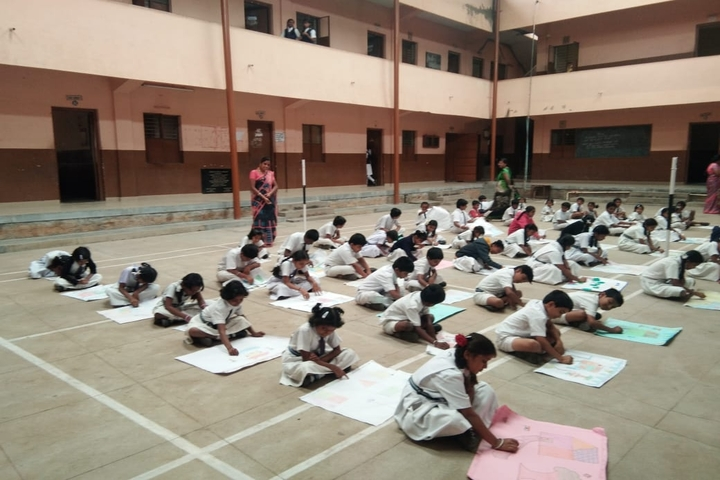 B S V Public School-Drawing Competition