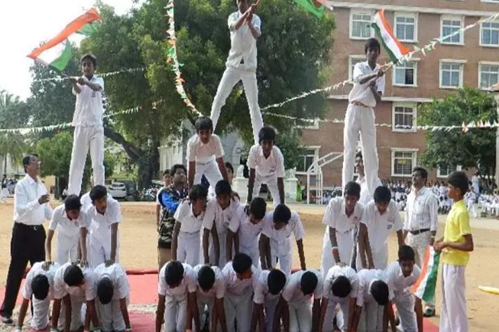 B M N Public School-Patriotic Day
