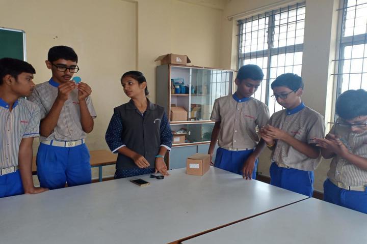 B R V Public School-Math Lab