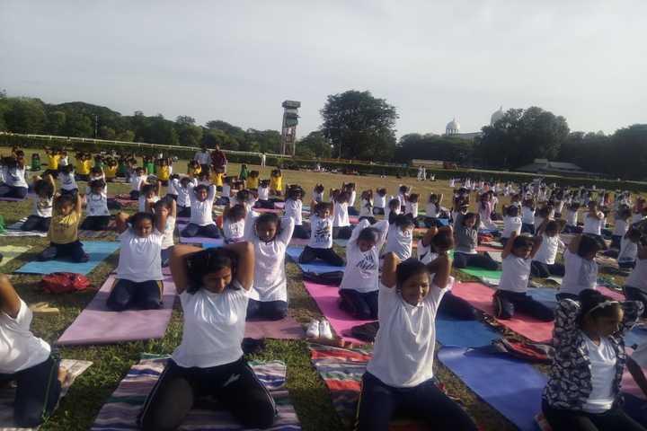 Baden Powell Public School-Yoga