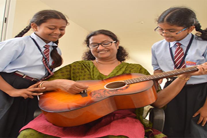 Beml Public School-Music Room