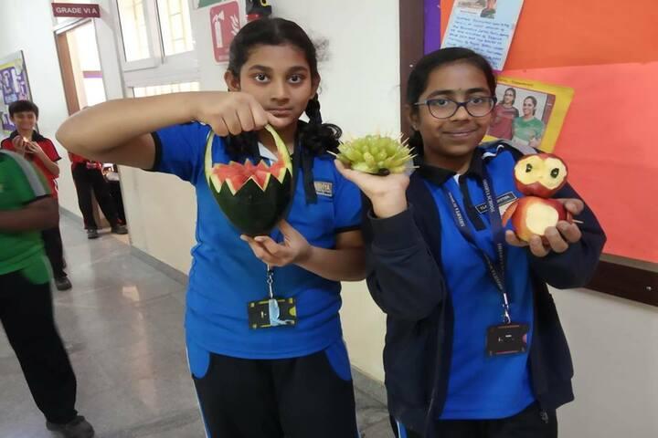 Beml Public School-Vegetable Crafting