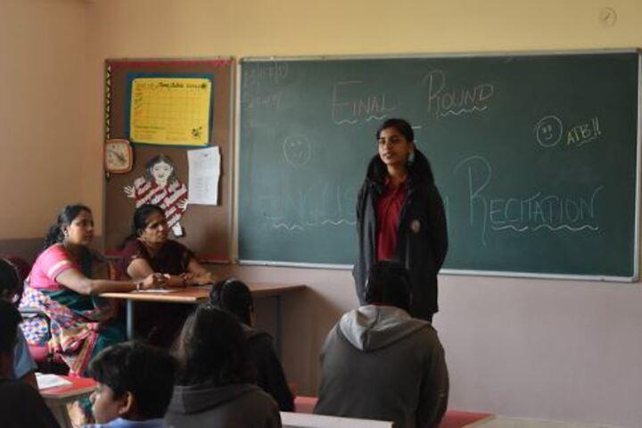 BGS Public School-English Reciation