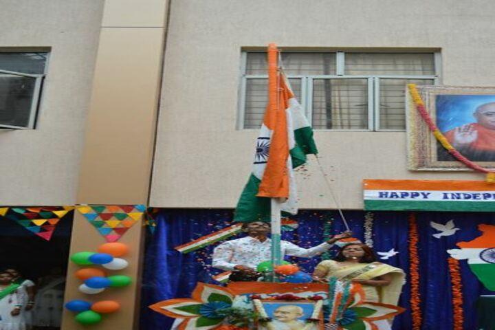 BGS Public School-Flag Hosting