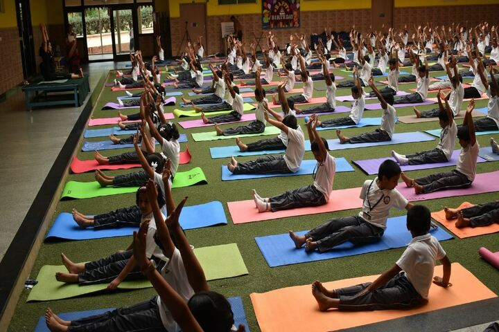 BGS Public School-Yoga Day