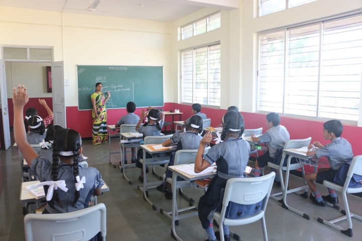 Bharatesh Central School-Classrooms