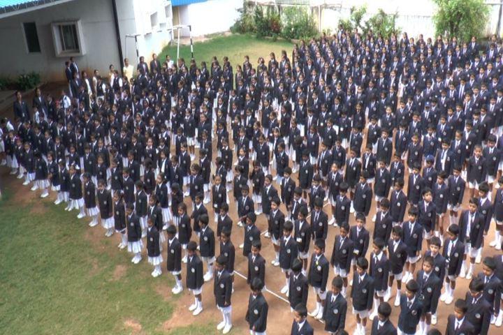 Bharatiya Vidya Bhavans Dr D Krishnamurthy Smt Shakuntalamma Memorial School-Morning Assembly