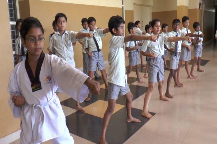 Bharatiya Vidya Bhavans Dr D Krishnamurthy Smt Shakuntalamma Memorial School-Taekwondo