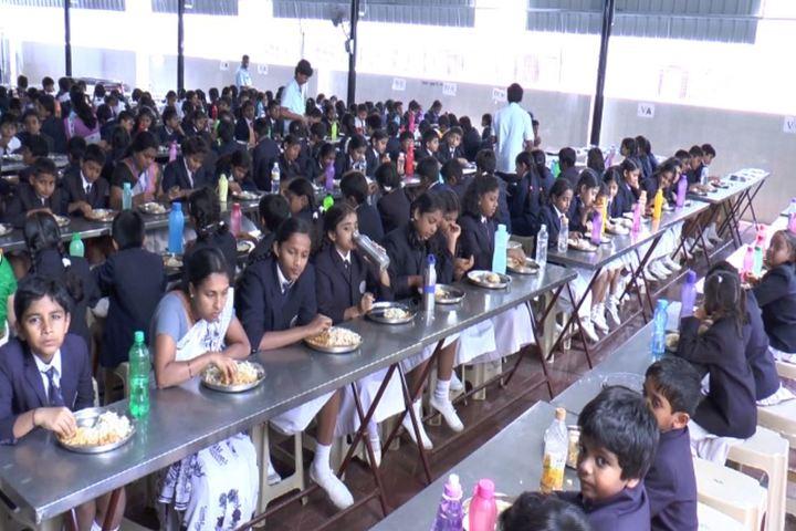 Bharatiya Vidya Bhavans Dr D Krishnamurthy Smt Shakuntalamma Memorial School-Meal Area