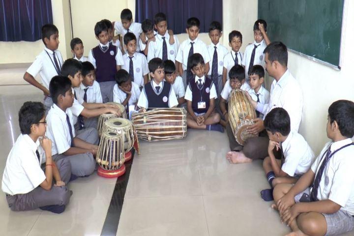 Bharatiya Vidya Bhavans Dr D Krishnamurthy Smt Shakuntalamma Memorial School-Music Room