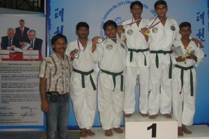 Bheema Universal Central School-Karate-Champions