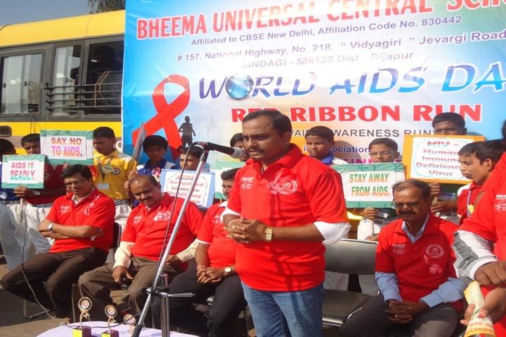 Bheema Universal Central School-Red Day