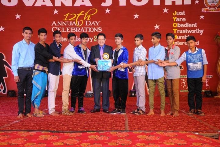 Bhuvana Jyothi Residential School-Prizes