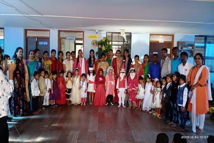 Bright Land English Medium School-Christmas Celebrations