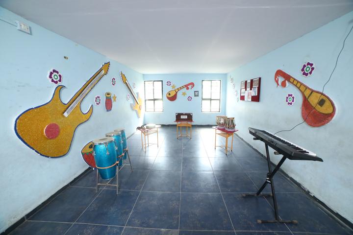 Bright Land English Medium School-Music And Dance Room